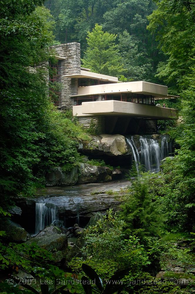 Frank lloyd wright la maison sur la cascade blitz blog - La maison sur la cascade frank lloyd wright ...